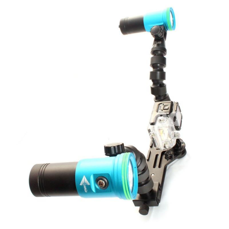 Flex 6400 Lm Underwater GoPro Video Lighting Set