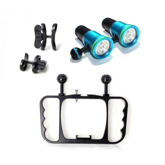 Underwater GoPro Camera Video Lighting System