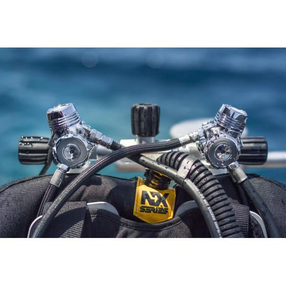 XDEEP Backmount Sidemount Scuba Diving Regulator
