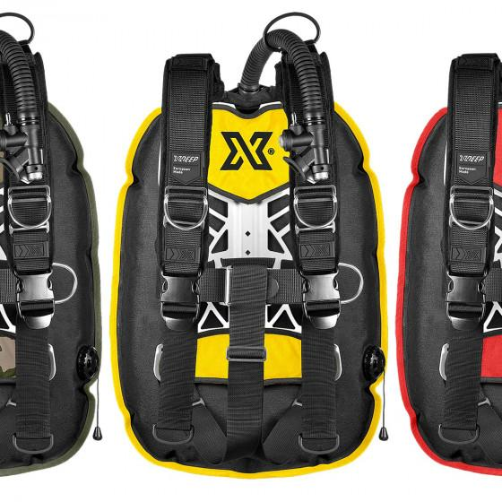 COLOR xDeep NX GHOST Deluxe Scuba Diving BCD