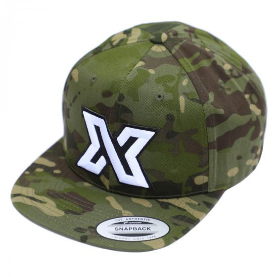 JUNGLE CAMO XDEEP Logo Cap