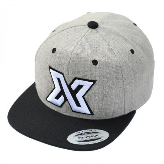 BLACK GRAY XDEEP Logo Cap