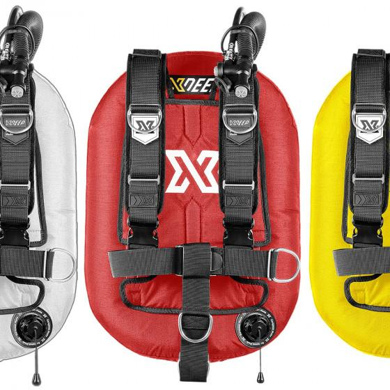 COLOR xDeep ZEOS Deluxe Scuba Diving BCD