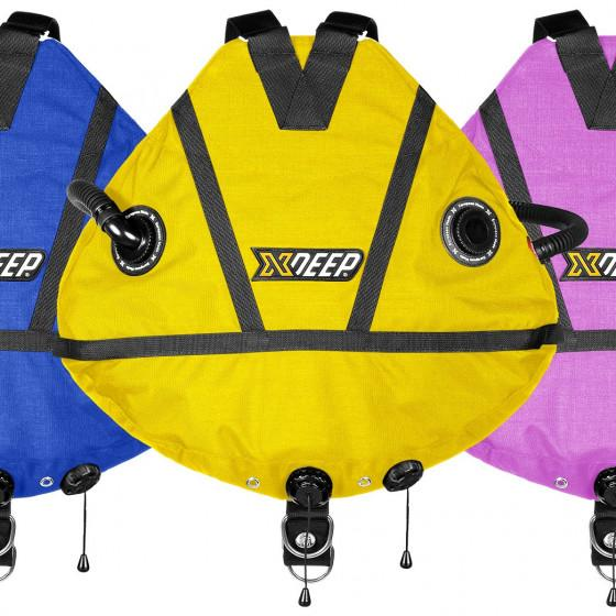 COLOR xDeep Stealth 2.0 Tec RB Redundant Bladder Sidemount BCD System
