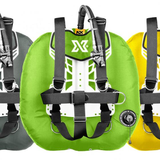 COLOR xDeep NX PROJECT Technical Diving Double Tank BCD