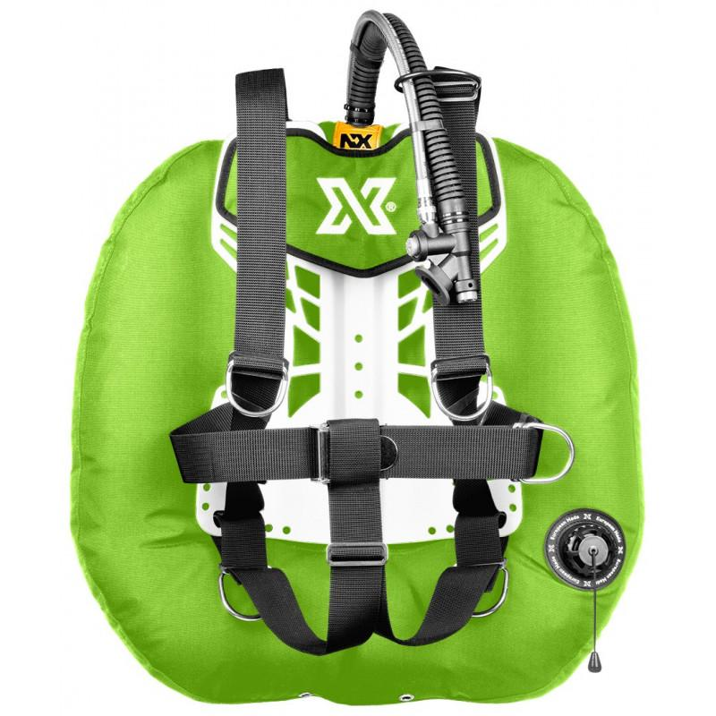COLOR xDeep NX Project Double Tank Technical Scuba Diving BCD