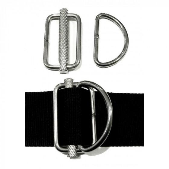 xDeep Sliding Metal D-ring for Sidemount Harness