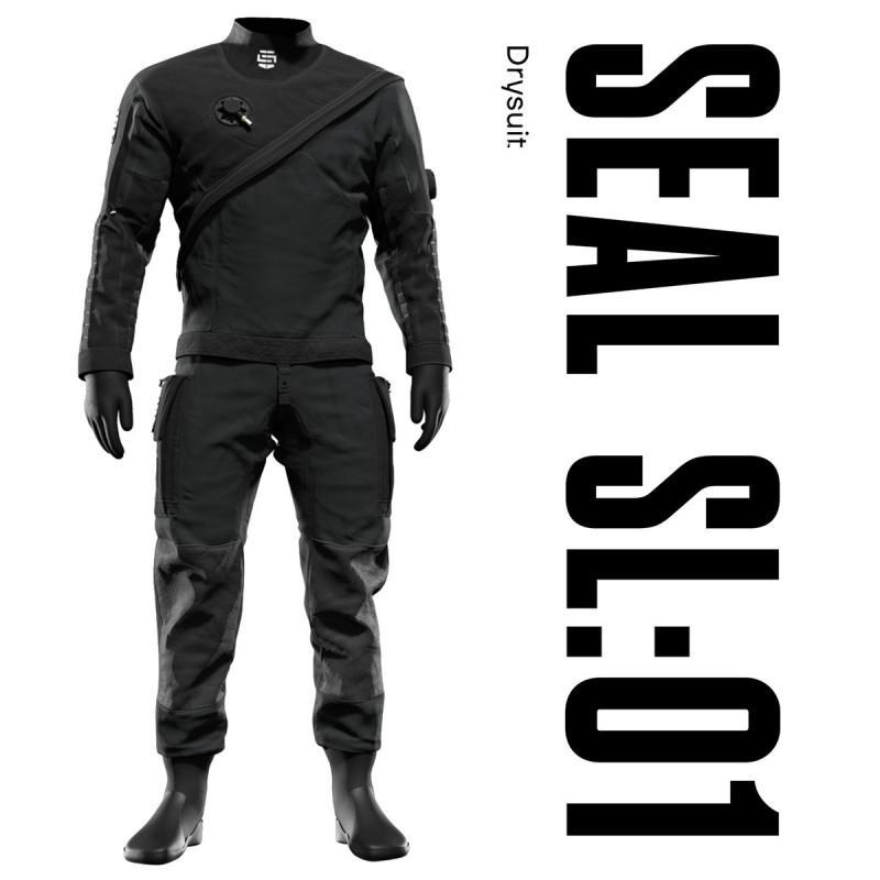 SEAL SL01 Taylor Made Custom Drysuit for Scuba Diving